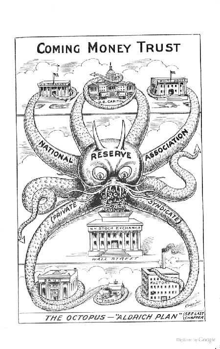 International Bankster Tentacle Porn